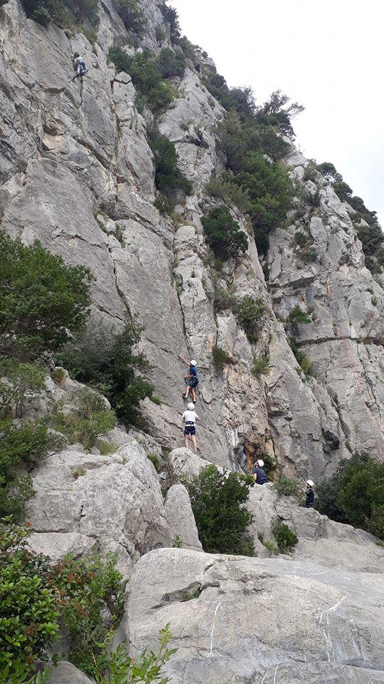 De la salle d'escalade à la falaise autour de Perpignan (66)